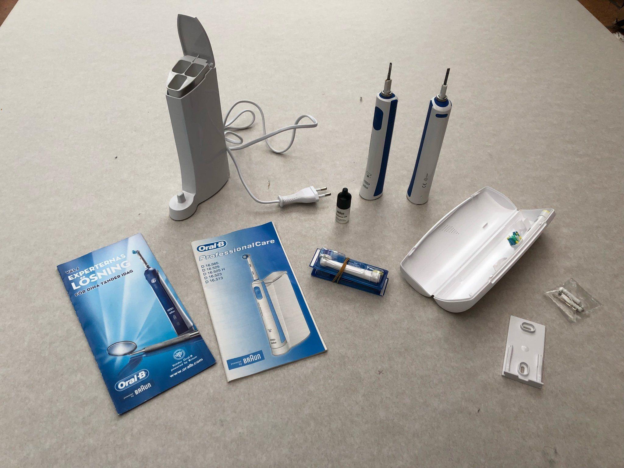Braun - elektrisk tandborste (341153653) ᐈ Köp på Tradera cc4cace33be23
