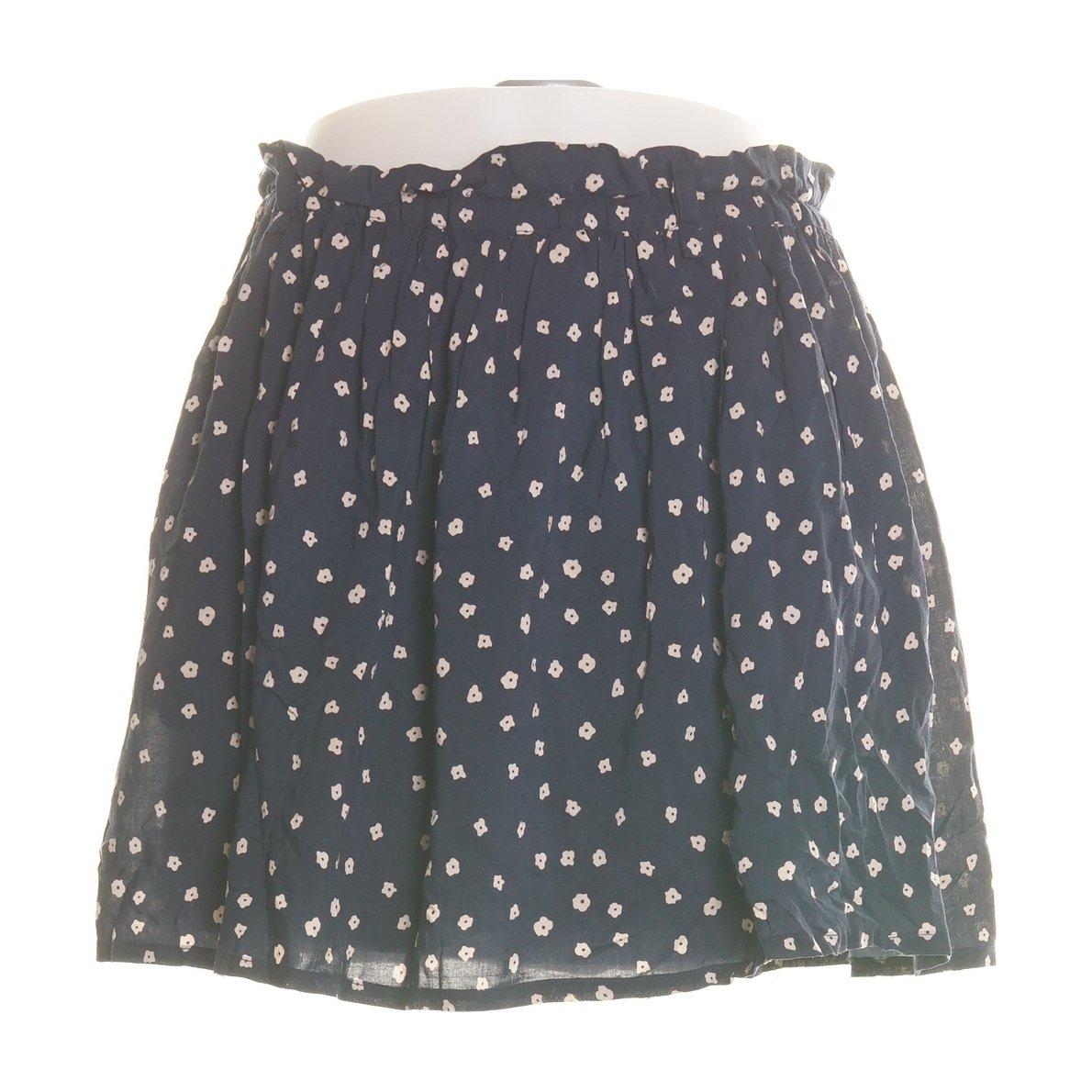 Mango – Randig, plisserad kjol