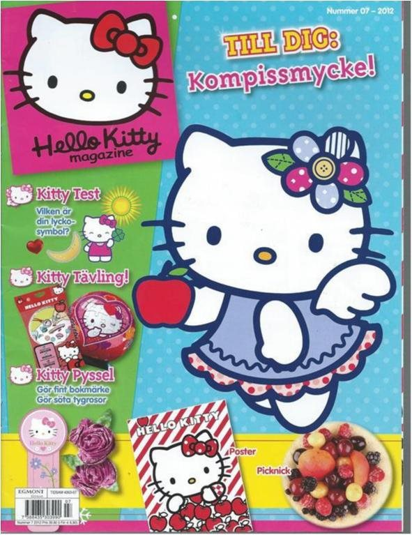 HELLO KITTY MAGAZINE   NR 7 2012
