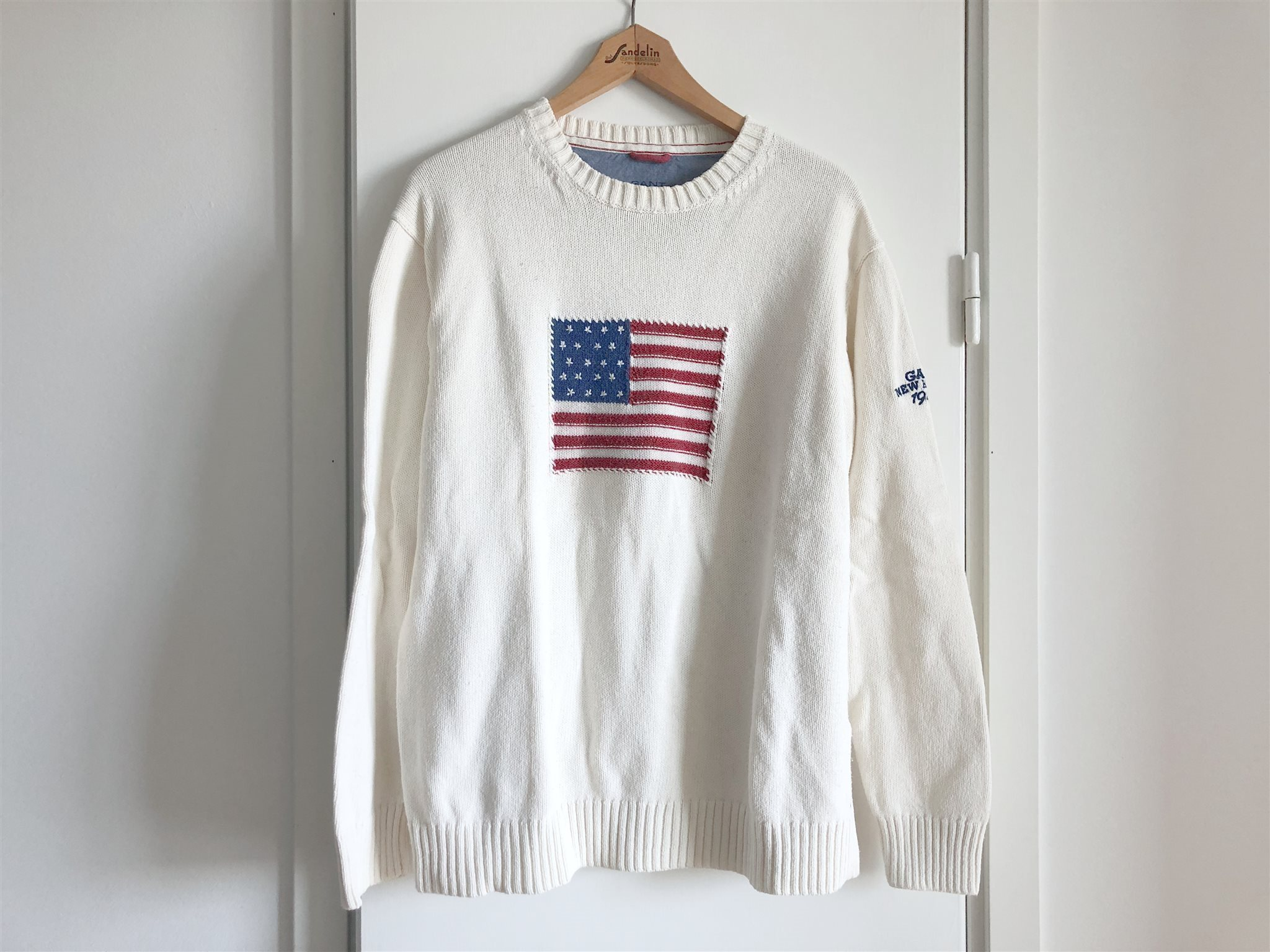 gant tröja flagga