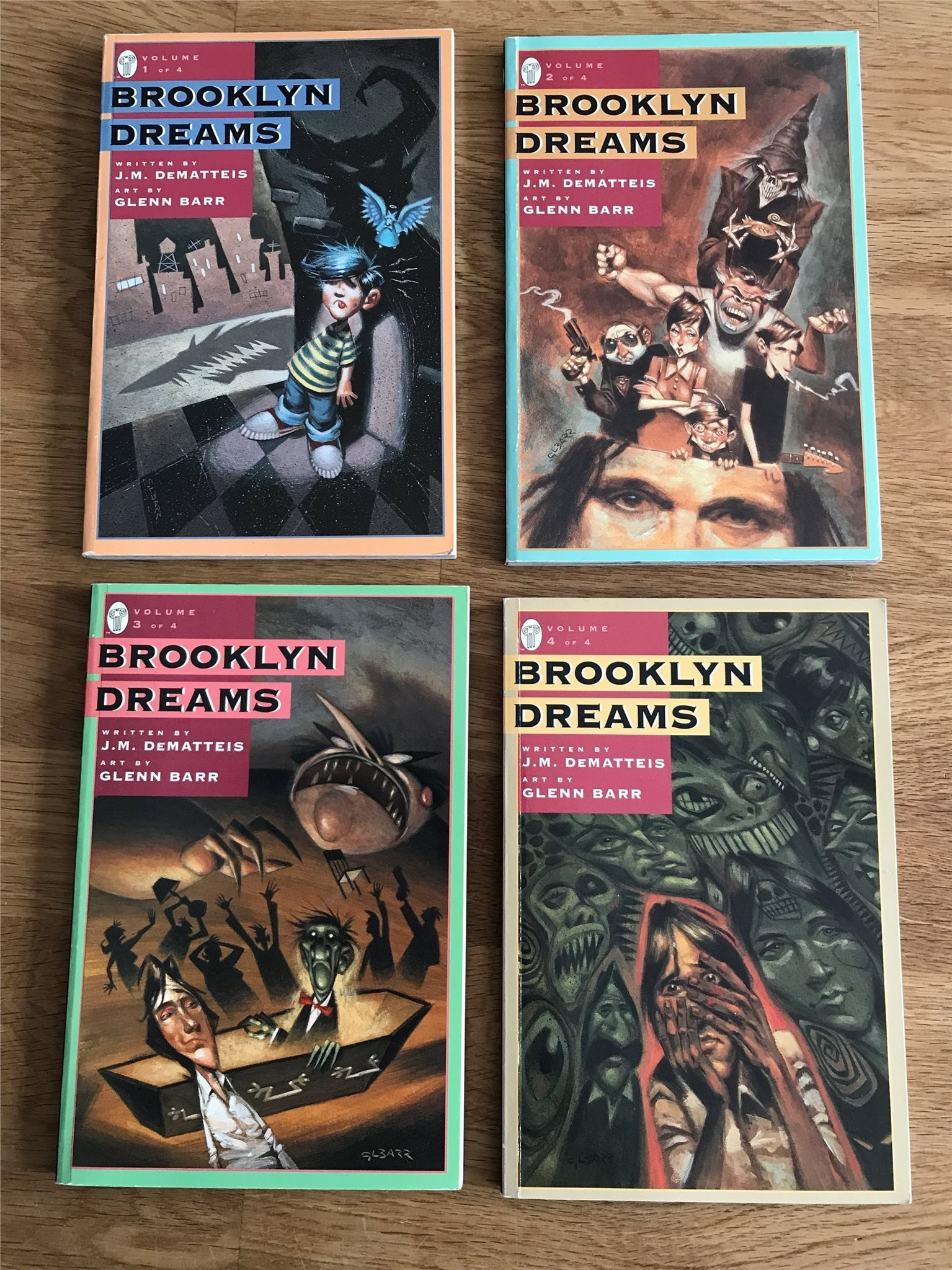 Brooklyn Dreams avslutad miniserie (359326494) ᐈ Köp på Tradera