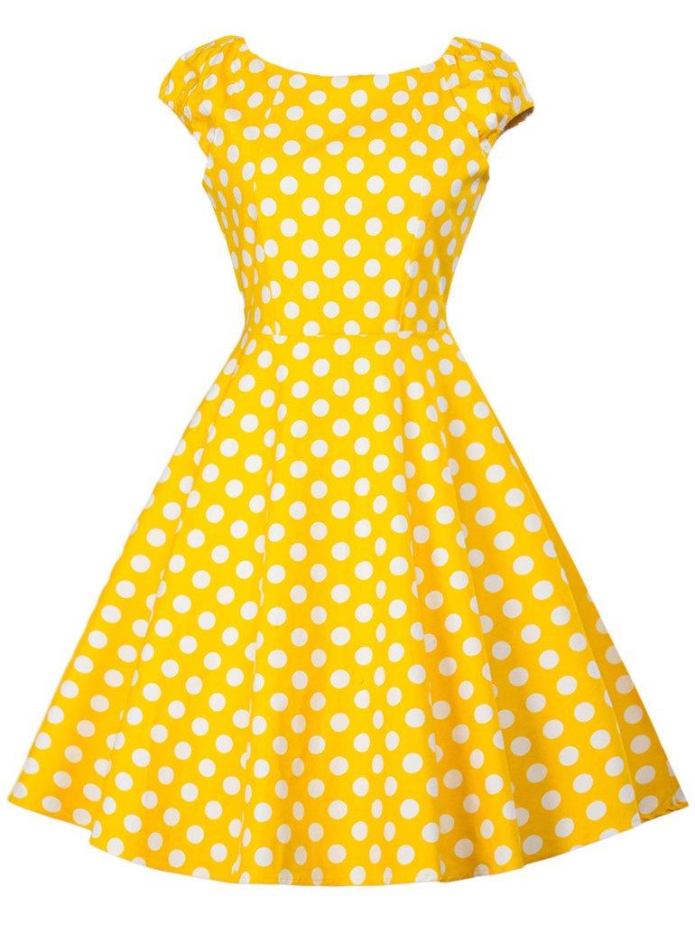 köpa rockabilly klänning