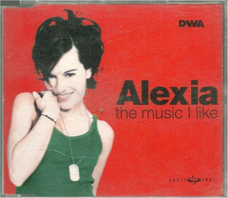 Alexia - The music i like - 5 Versions / Gimme love