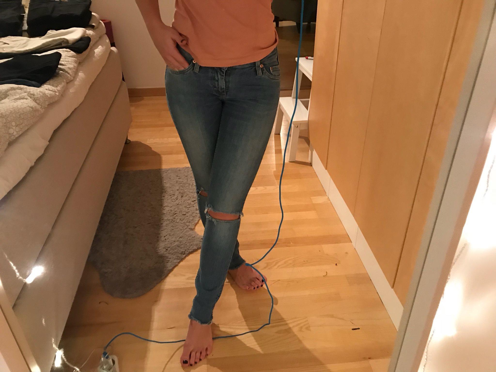 acne jeans storlek