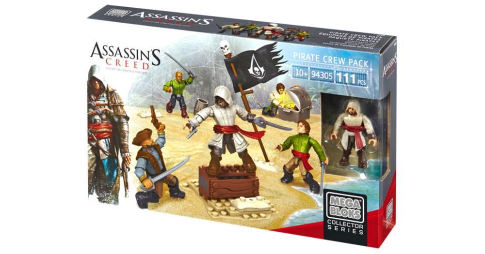 Assassin´s Creed Mega Bloks Pirate Crew