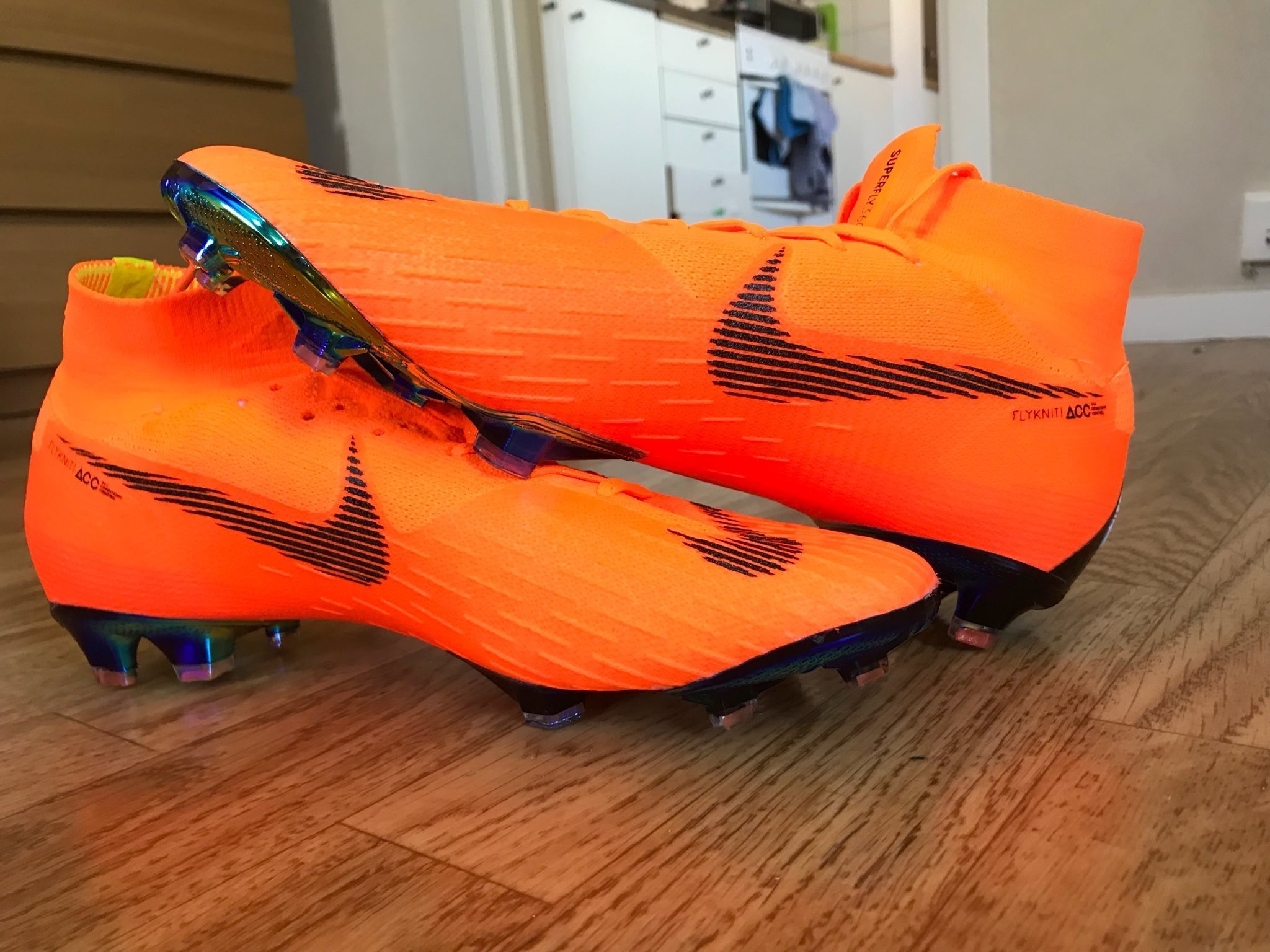 best website 80e6f 9a9a2 ... fotbollsskor 73276 521df  sweden nike mercurial superfly 6 elite fg  fast af orange svart neon 43 535be fc444