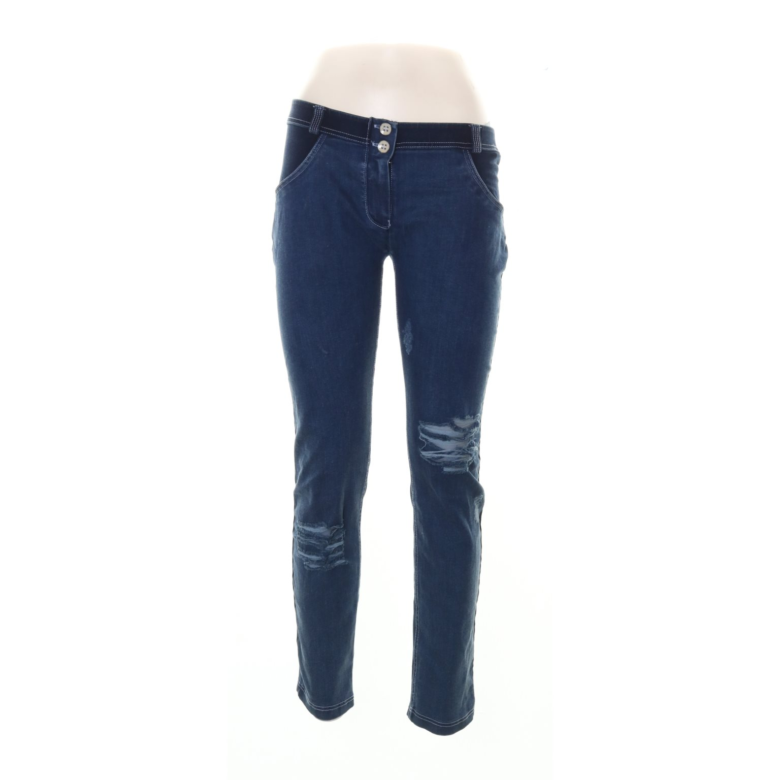 Fröddy, Jeans, Strl: L, Mörkblå