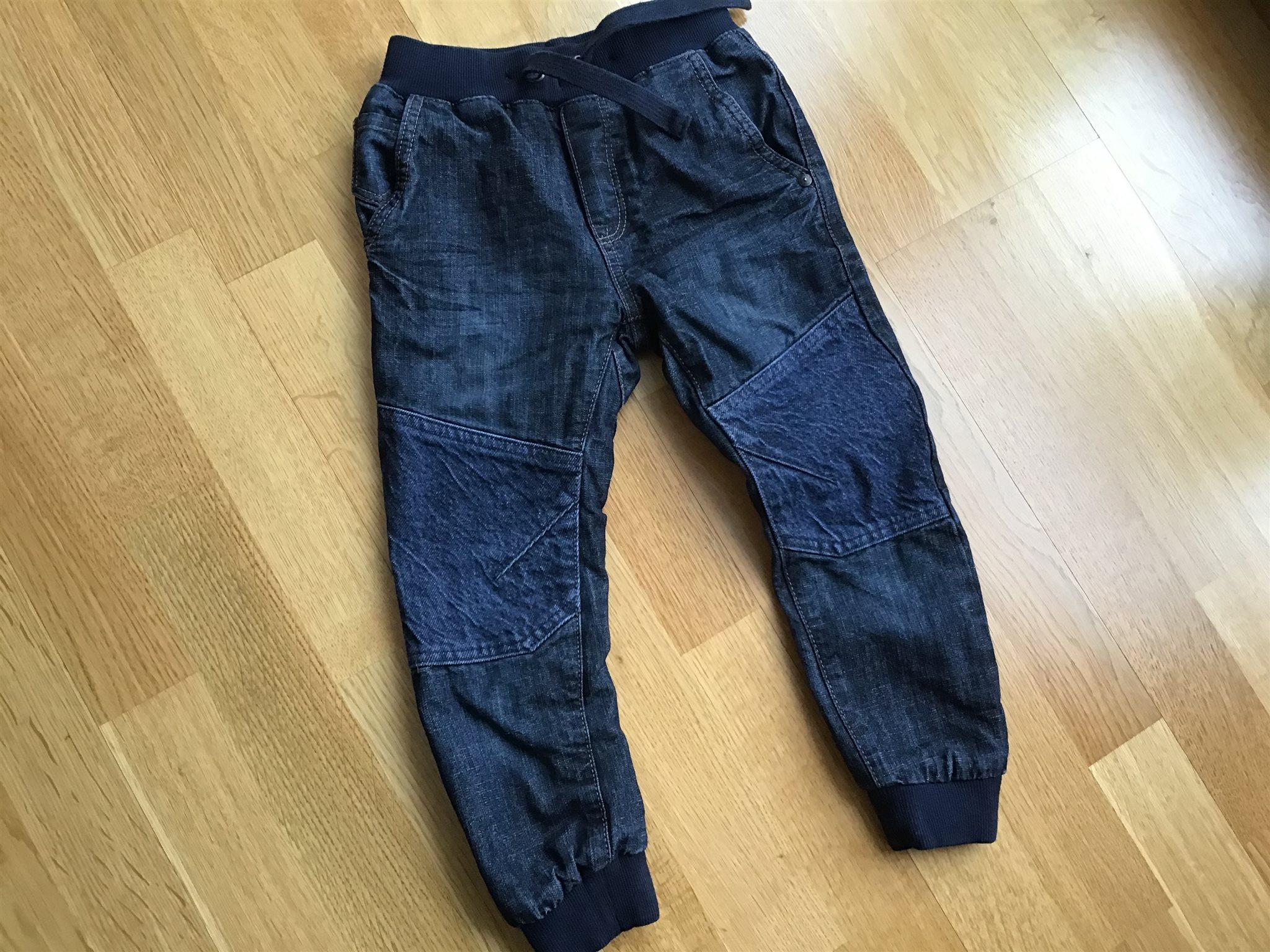 Lindex mjuka fodrade blå jeans   jeansbyxa by.. (337971299) ᐈ Köp ... 38661704e40ee