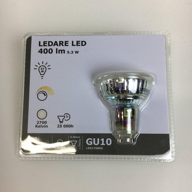 IKEA, LED lampa, Ledare LED 400lm 5.3W
