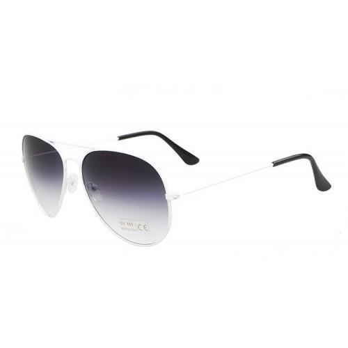 Solglasögon med Vita bågar och mörka linser Pilot (340126572) ᐈ Köp ... 4b29b895c676e