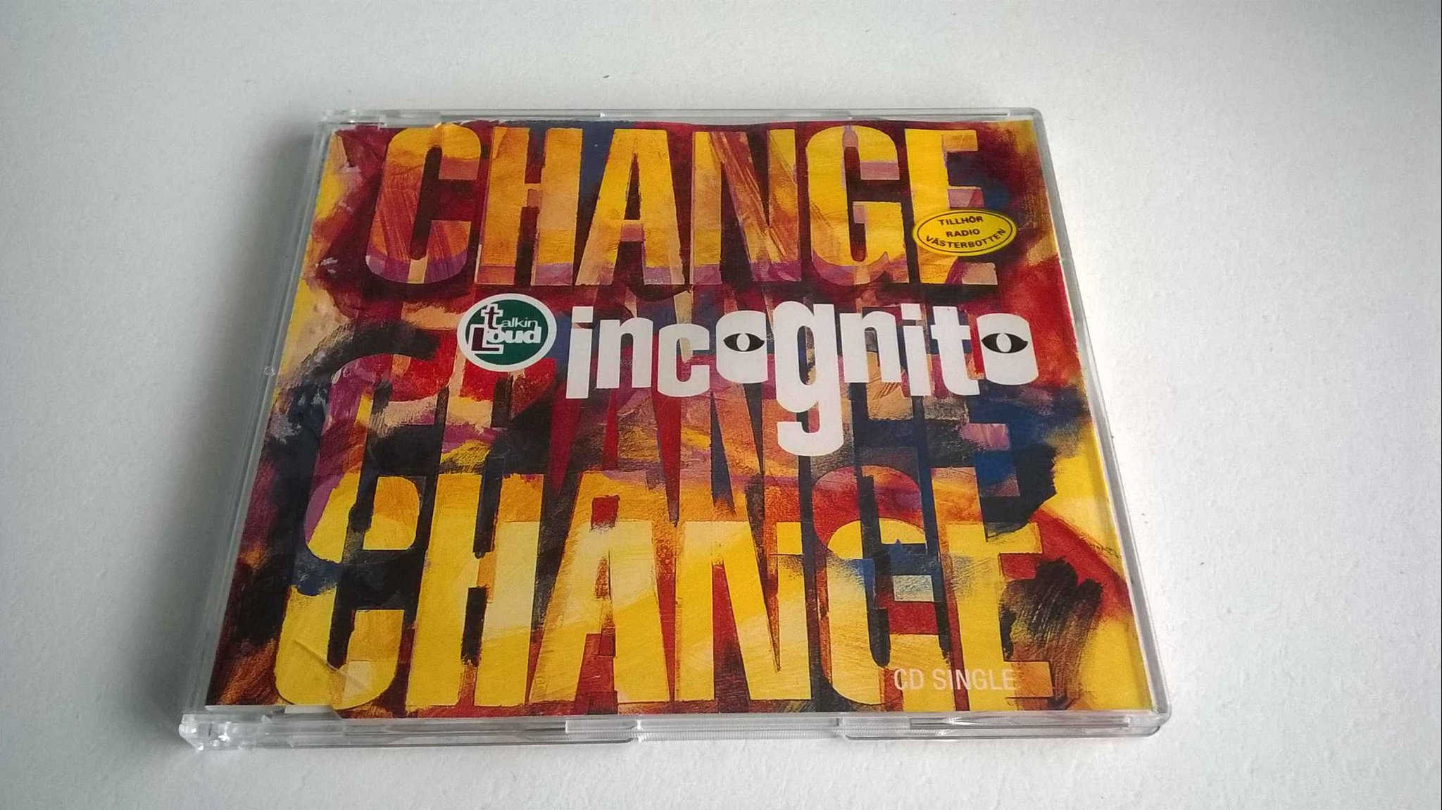 Incognito ?- Change, CD, Maxi-Single