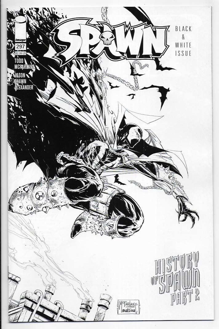 Spawn # 297 Cover C NM Ny Import