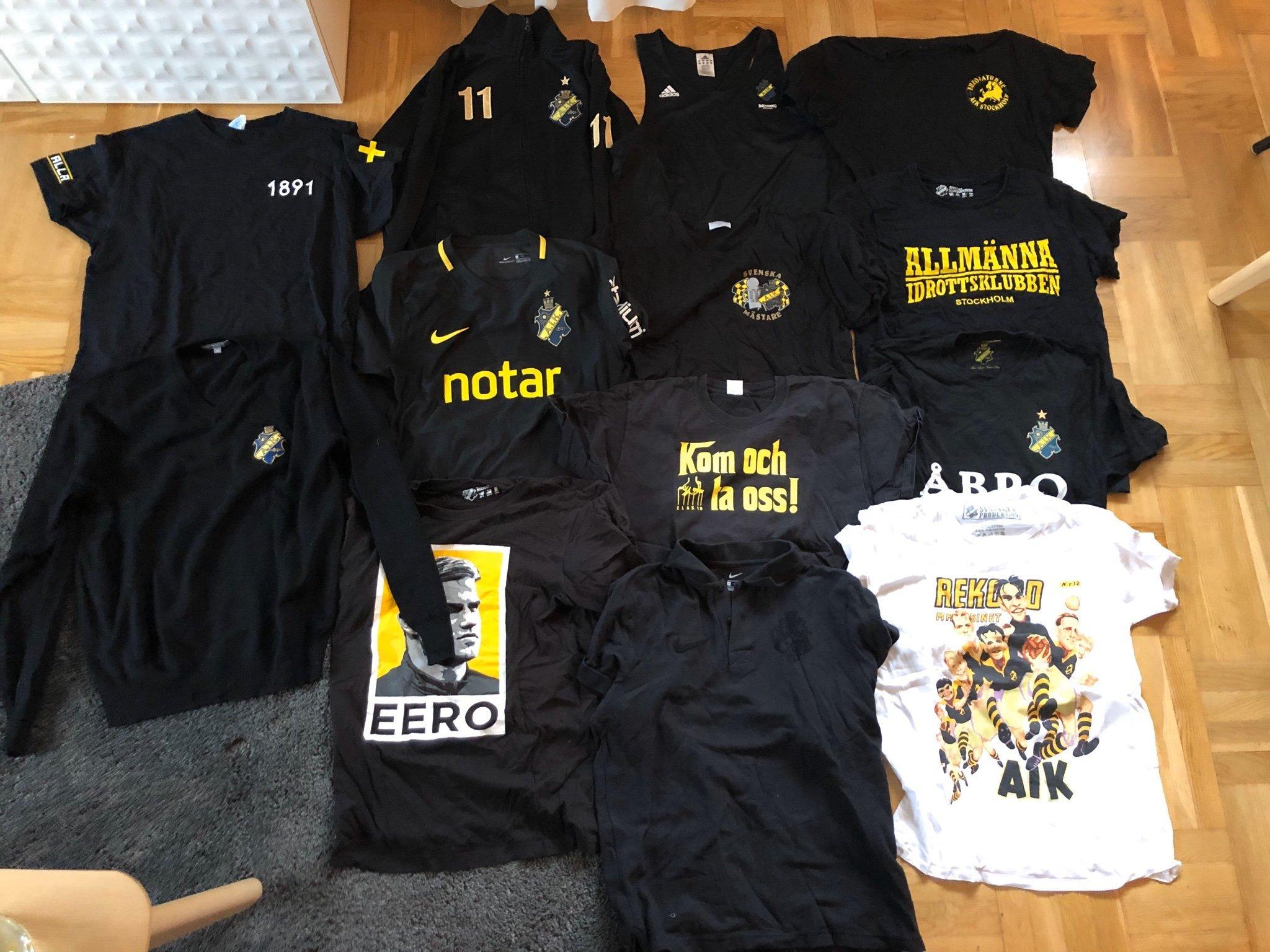 11st klädplagg AIK! Matchtröja Kristoffer Olsson! Strl M L