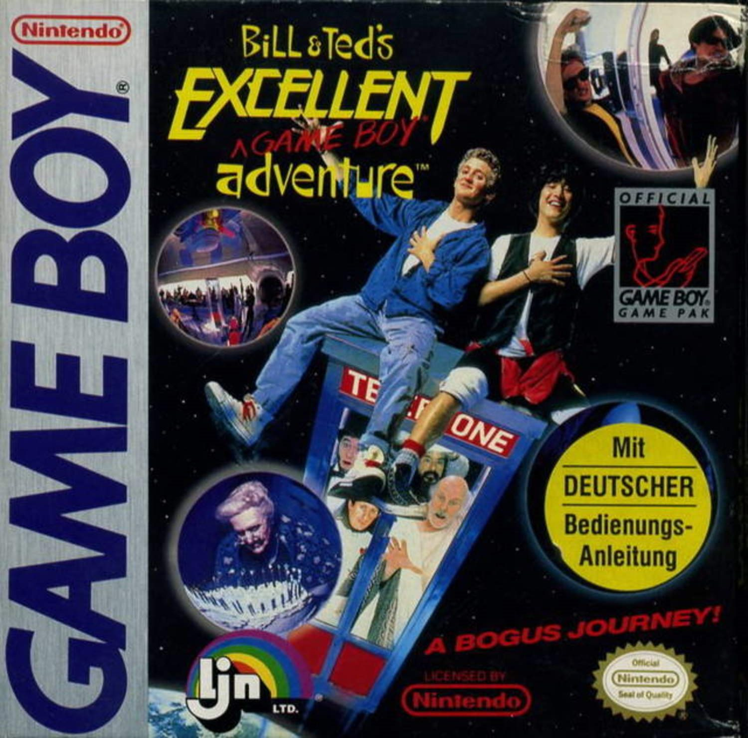 Bill and Teds Excellent Gameboy Adventure - Gameboy