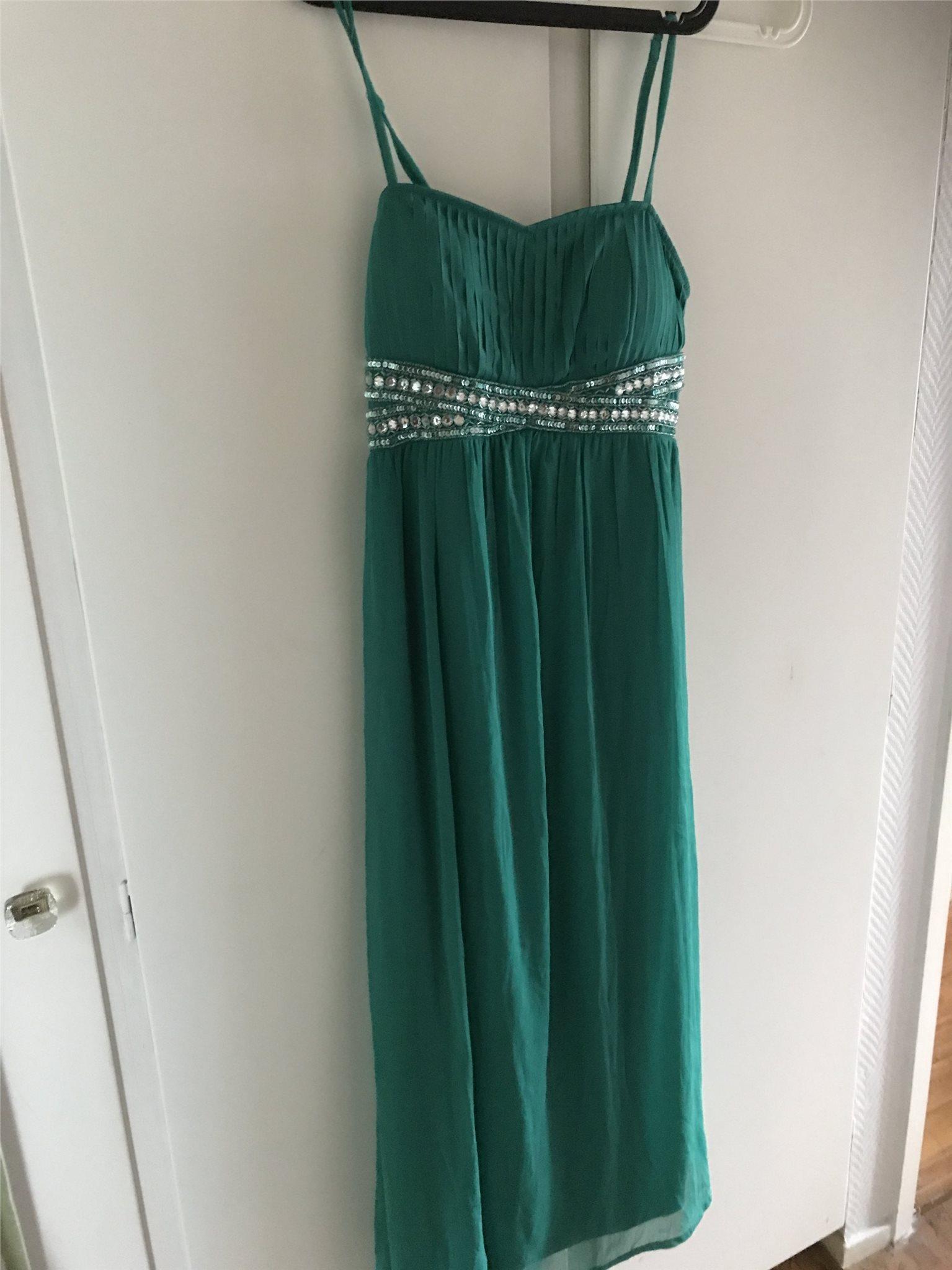 04d1afe3152f Vacker smaragdgrön klänning Stl 40 bal fest var.. (350243974) ᐈ Köp ...