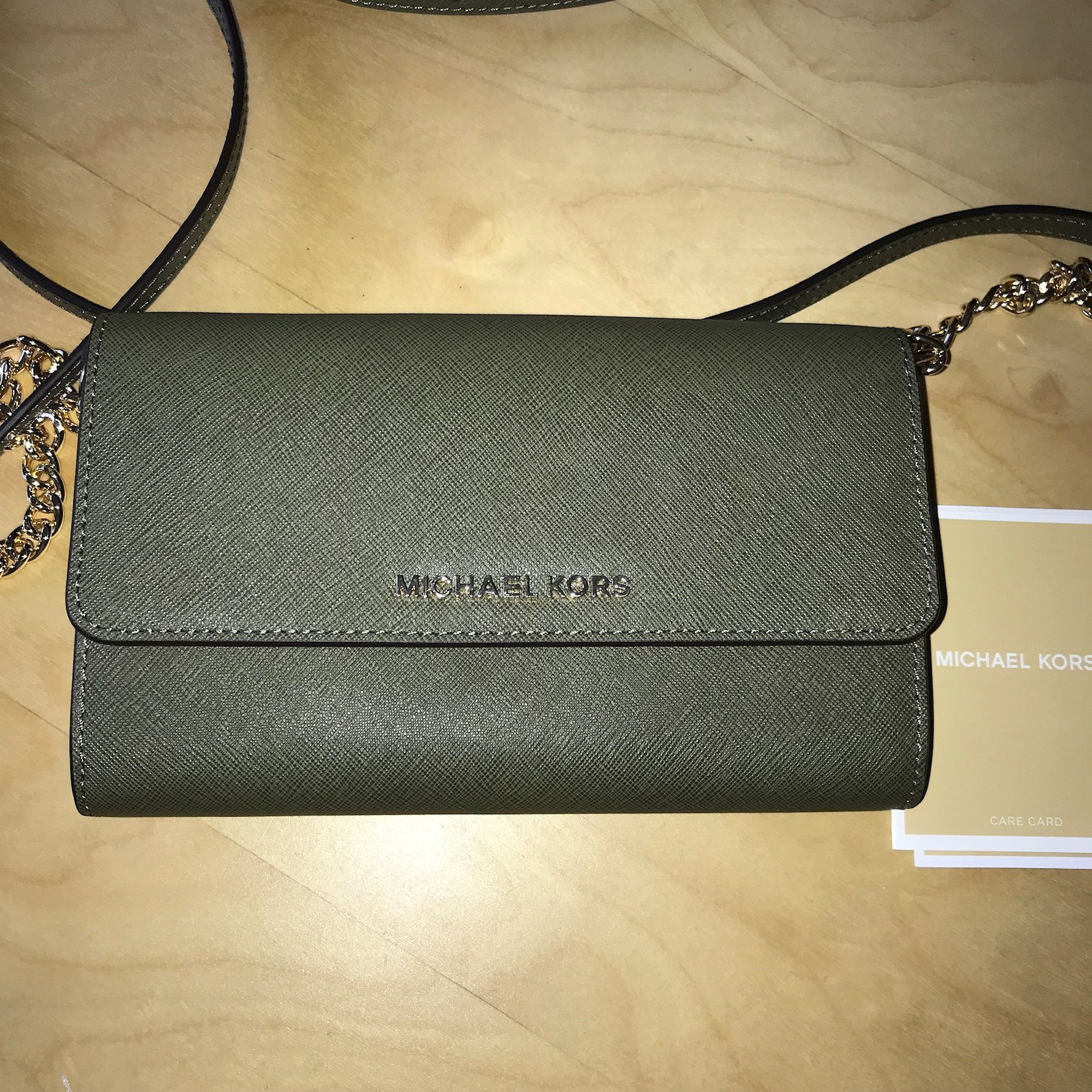 71809d488 @@NY MICHAEL KORS JET SET TRAVEL OLIVEGRÖN CROSSBODY@@