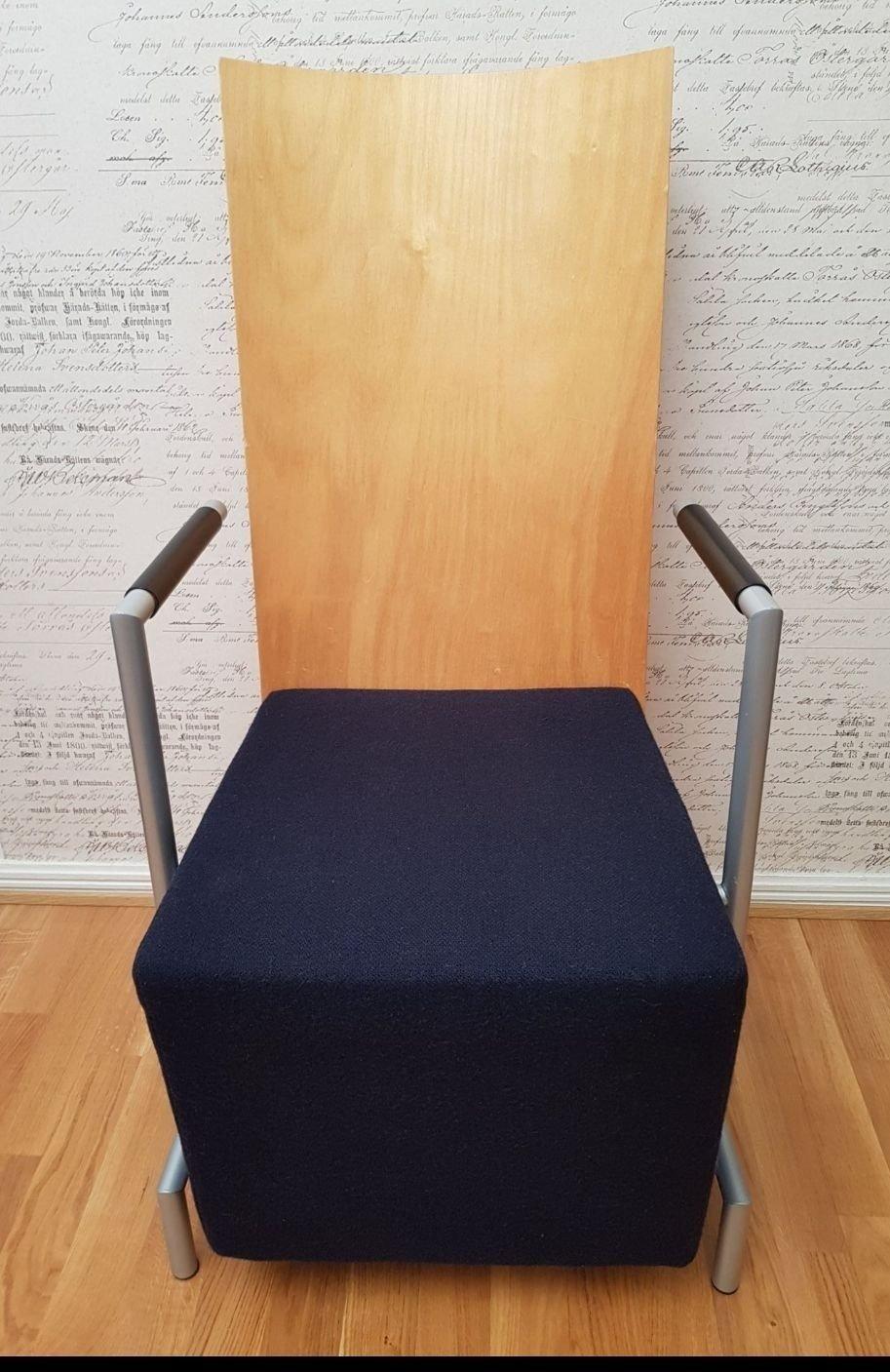 Retro Design Stol Fåtölj. 50 60tal (373998274) ᐈ Köp på