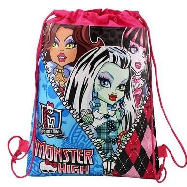 monster high skolväska