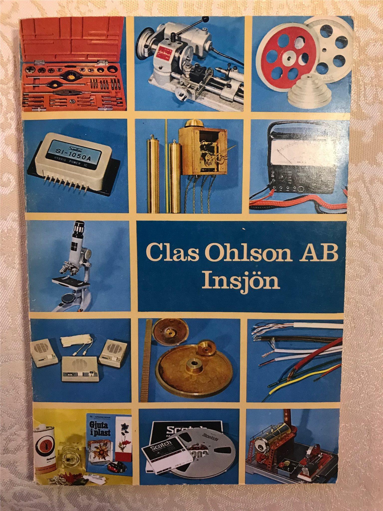 clas ohlsons katalog