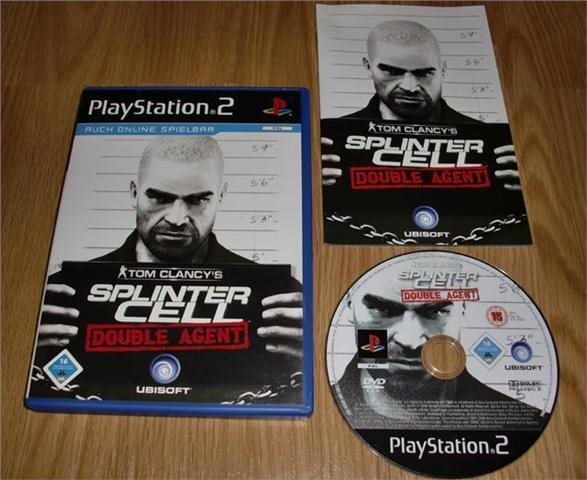 PS2: Tom Clancys Splinter Cell Double Agent