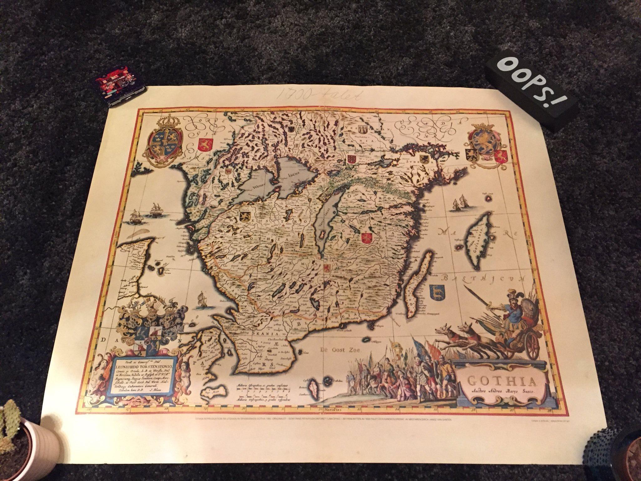 historiska kartor över göteborg
