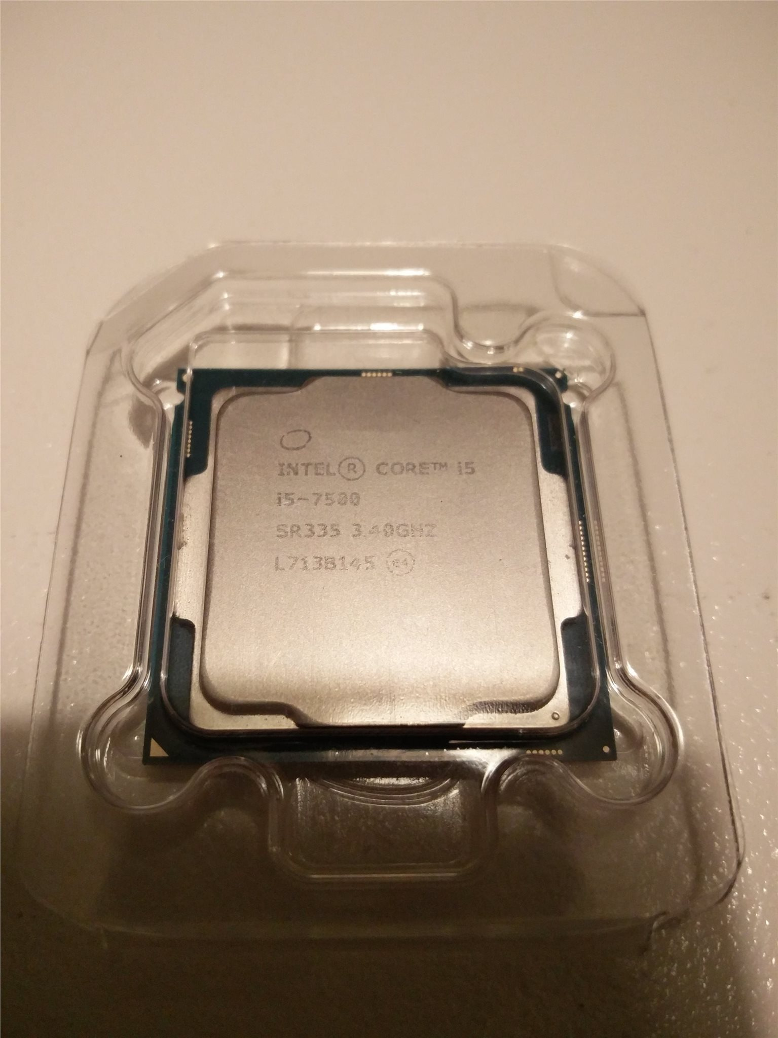 Intel® Core™ i5-7500 Quad-core 6M Cache, up to 3.80 GHz LGA1151 Kaby Lake