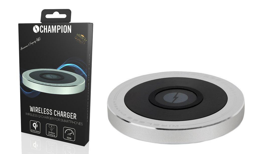 Champion Wireless QI Charger (339732245) ???TheSweetGadgets