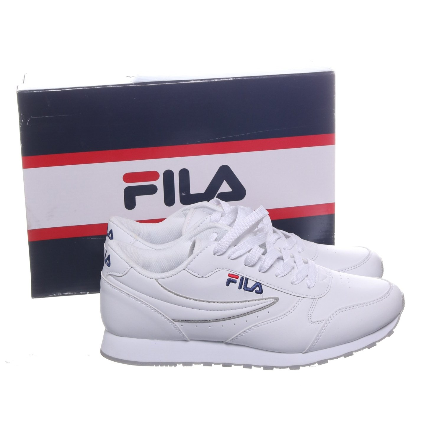 Fila, Sneakers, Strl: 42, Orbit Low, Vit, Skinn