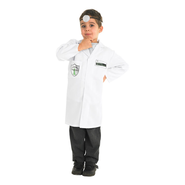 Doktor Barn Maskeraddräkt - Small (333218570) ᐈ Hobbyprylar på Tradera b80ca3f5a74d0