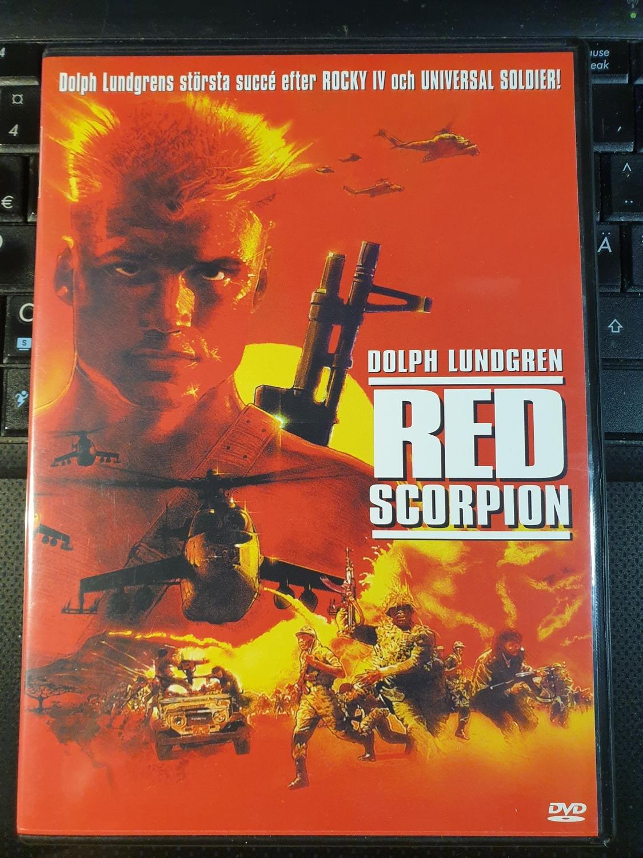 Red Scorpion DVD 1988 Vörös Skorpió / Directed by Joseph