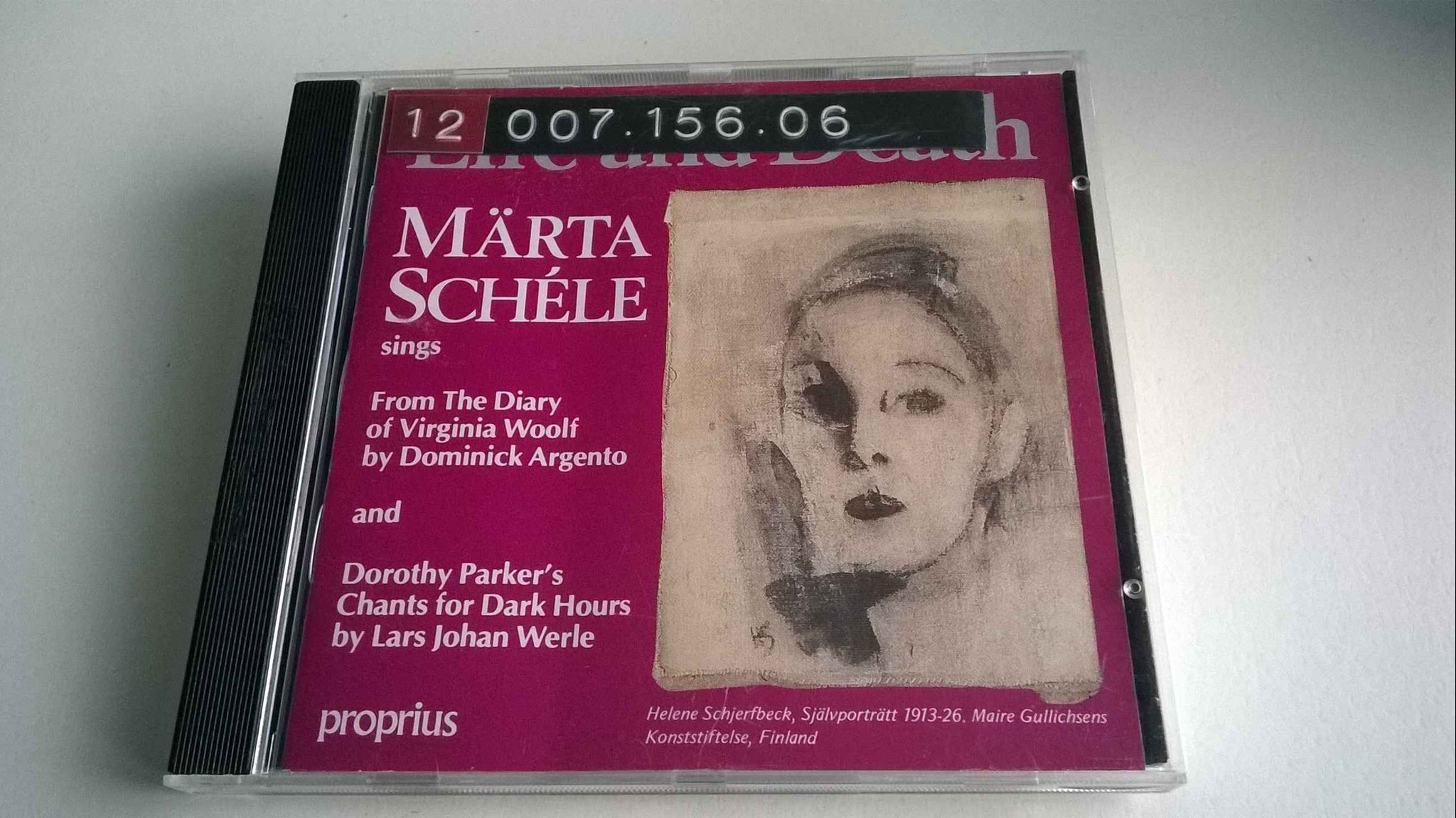 Märta Schele - Life and Death, CD, Album