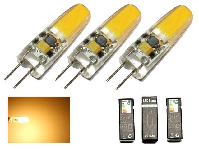 Fantastisk G4 2w dimbar 12v DC + AC Led lampa 3000.. (312409061) ᐈ Inkbuddy ML-22