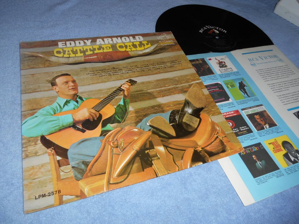 Eddy Arnold Cattle Call Lp Usa 1963 Exex 315431899 ᐈ Köp På