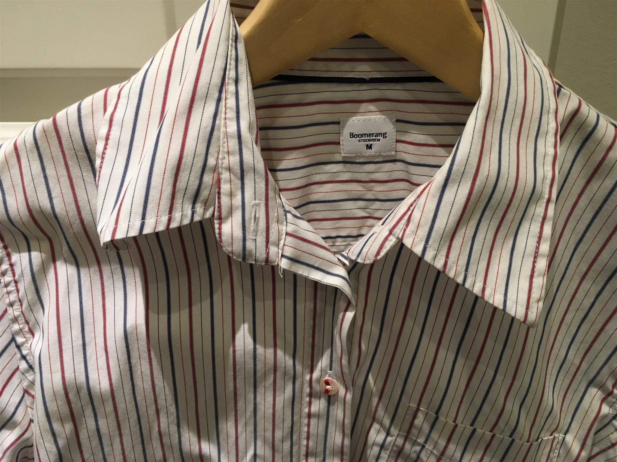 Boomerang stl M skjorta fint skick 100% bomull .. (335238282) ᐈ Köp ... 1b08083193f69
