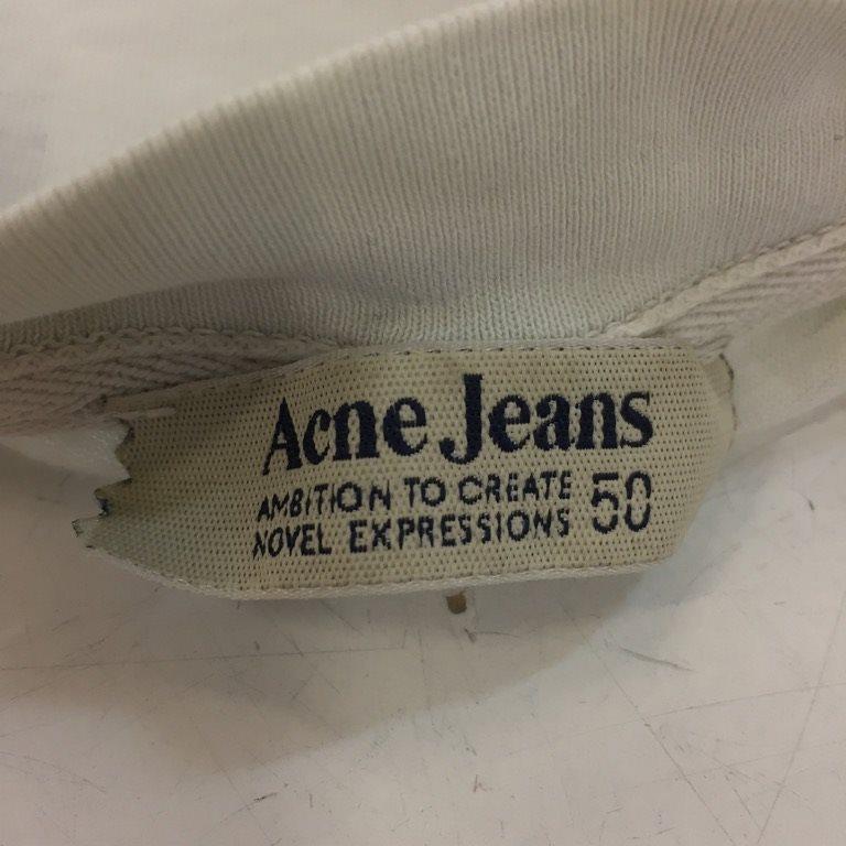 Acne Jeans, Jeans, Jeans, T-shirt, Strl: M, Vit/Svart 6e3dea