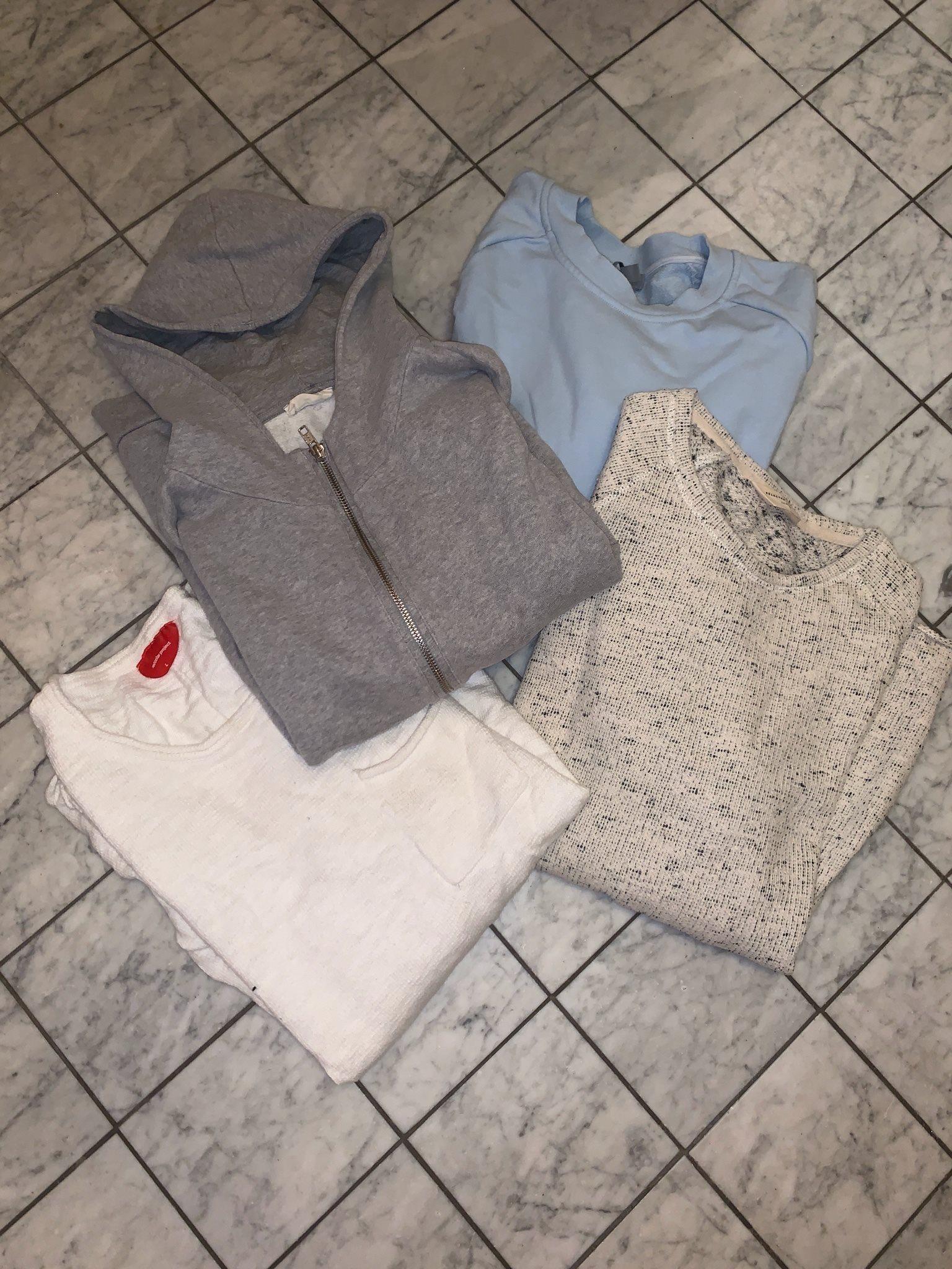 American vintage hood red collar project cos selected homme sweatshirt  hoodie bd12d8c221107