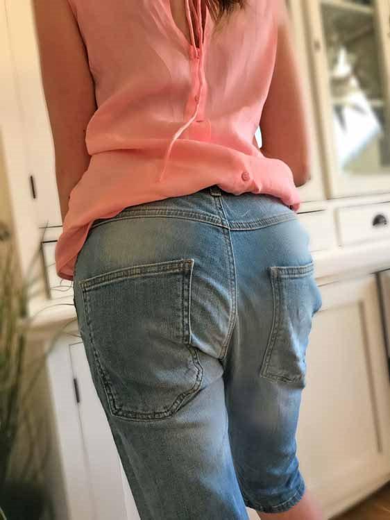 e30b897d Isay fri frakt Konnie relaxed blå korta jeans shorts jeansshorts XS ...