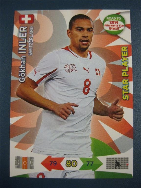 STAR PLAYER -   GÖKHAN INLER - SCHWEIZ - ROAD TO 2014 FIFA WORLD CUP BRAZIL