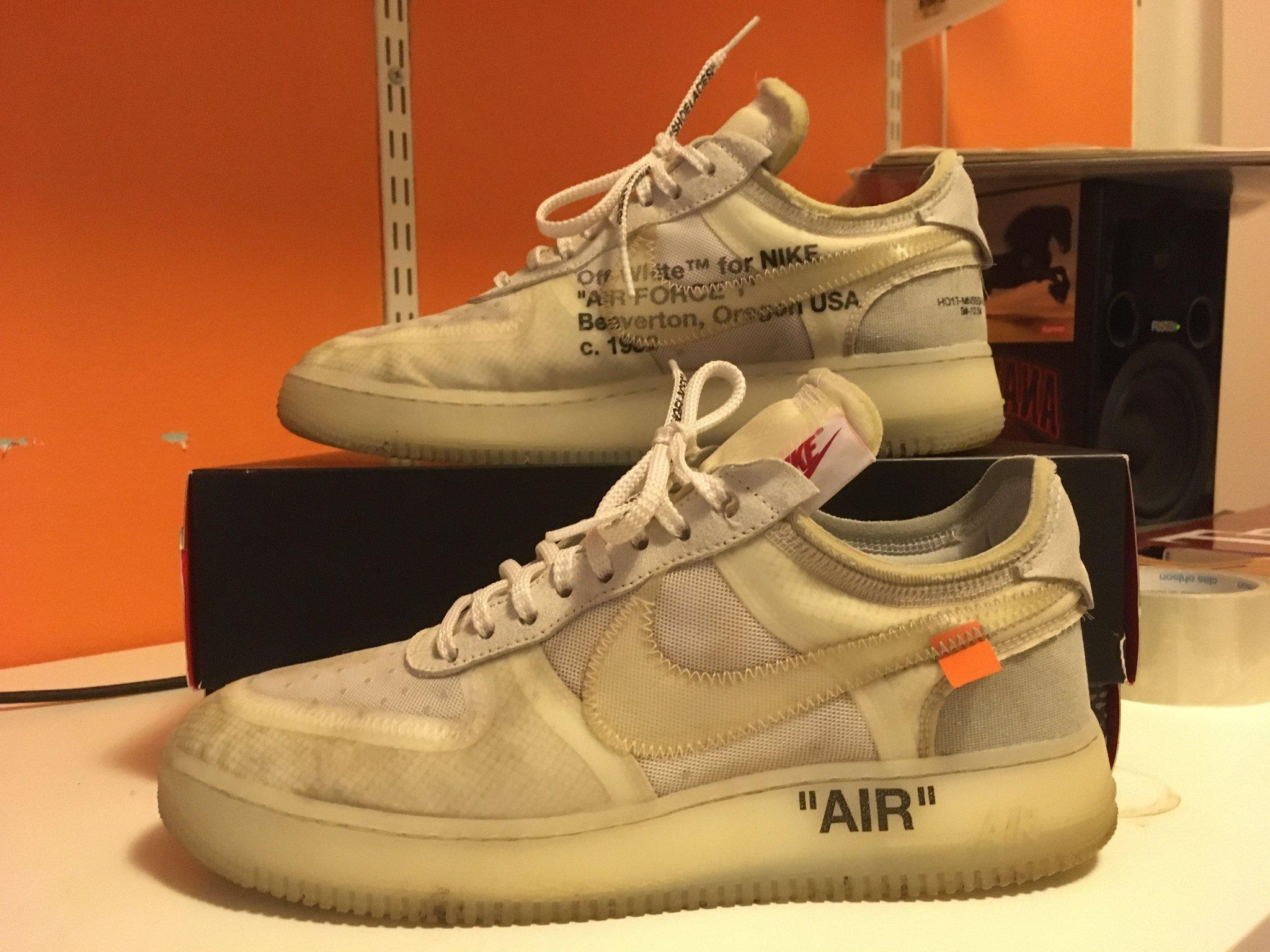 Virgil Abloh x Nike Air Force 1 Low Off White AF100   Nike