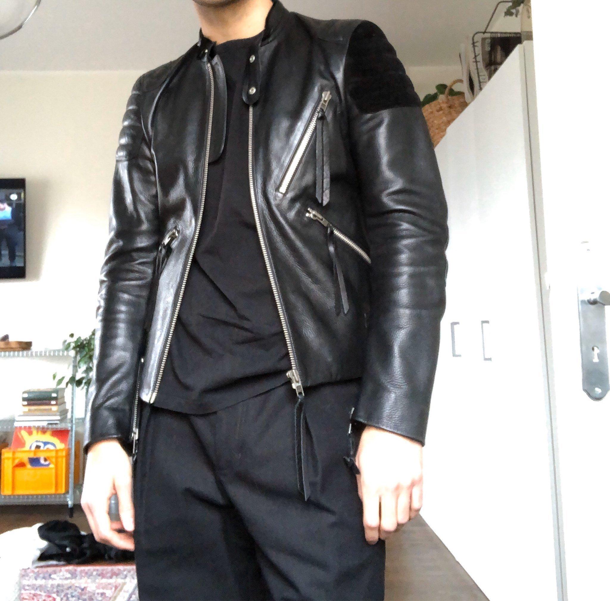 Acne Studios Skinnjacka Oliver 46S. Sällsynt. (403577831