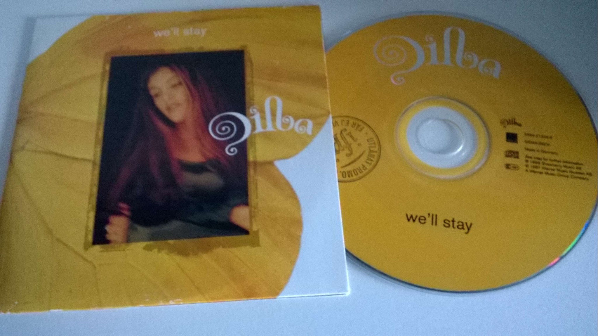 Dilba - We`ll stay, single CD, promo stämplad