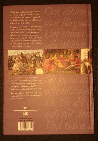 Litteraturen lever lever lever Antiken-1914 ISBN: 9789147078059 c15aae