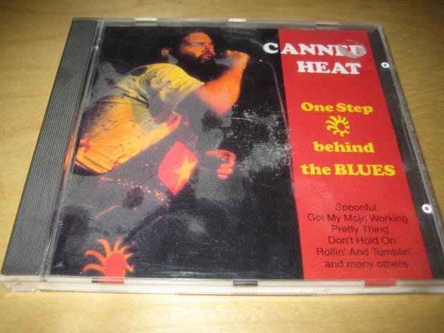 CANNED HEAT - ONE STEP BEHIND THE BLUES.