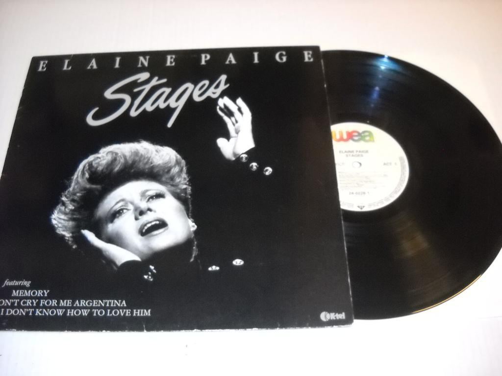 "Elaine Paige ""Stages"""