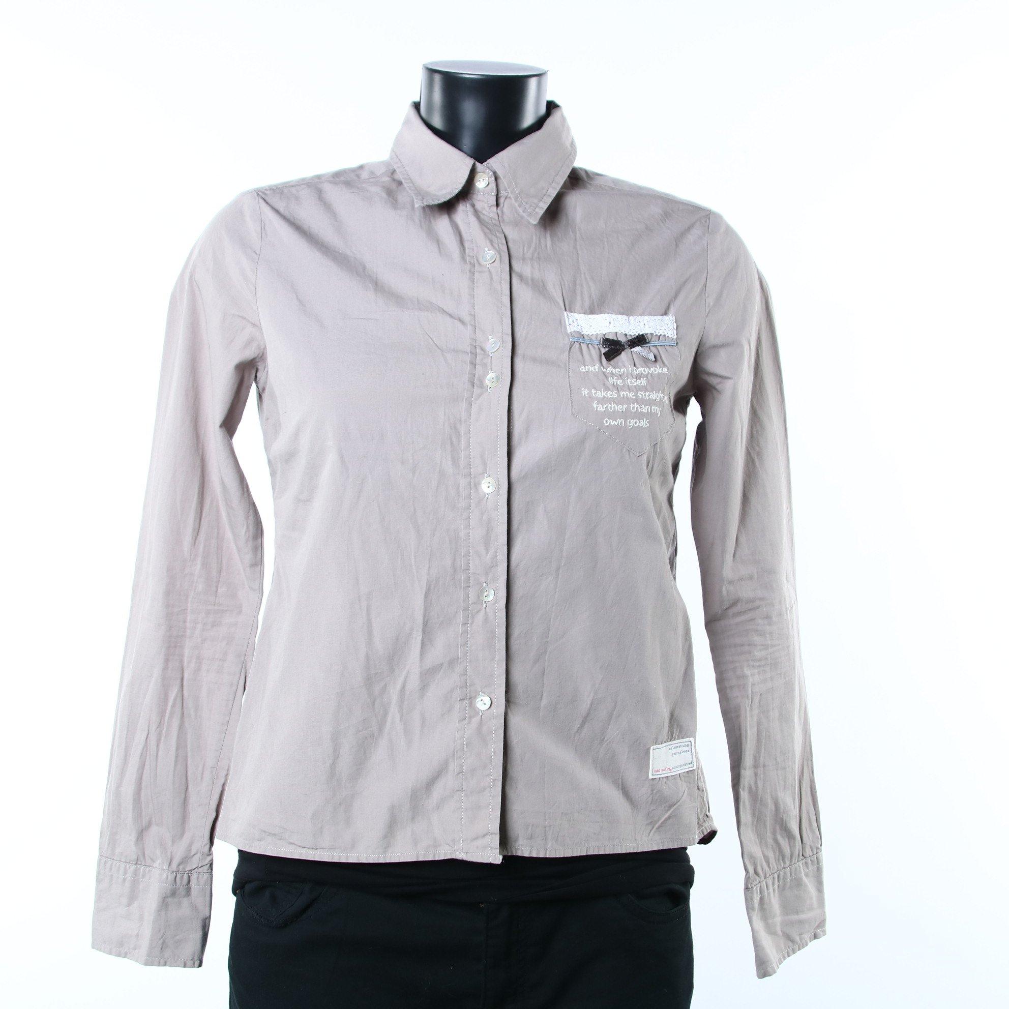 4b8c7253094e Odd Molly beige skjorta XS (348721106) ᐈ Erikshjälpensecondhand på ...