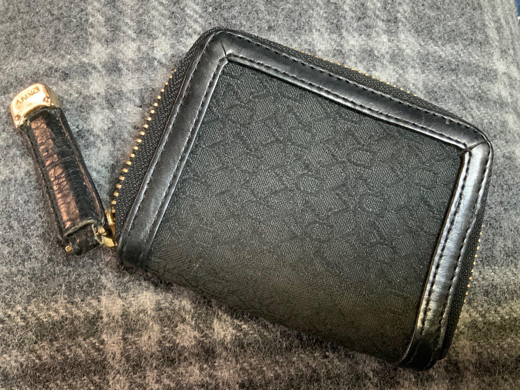 donna karan plånbok