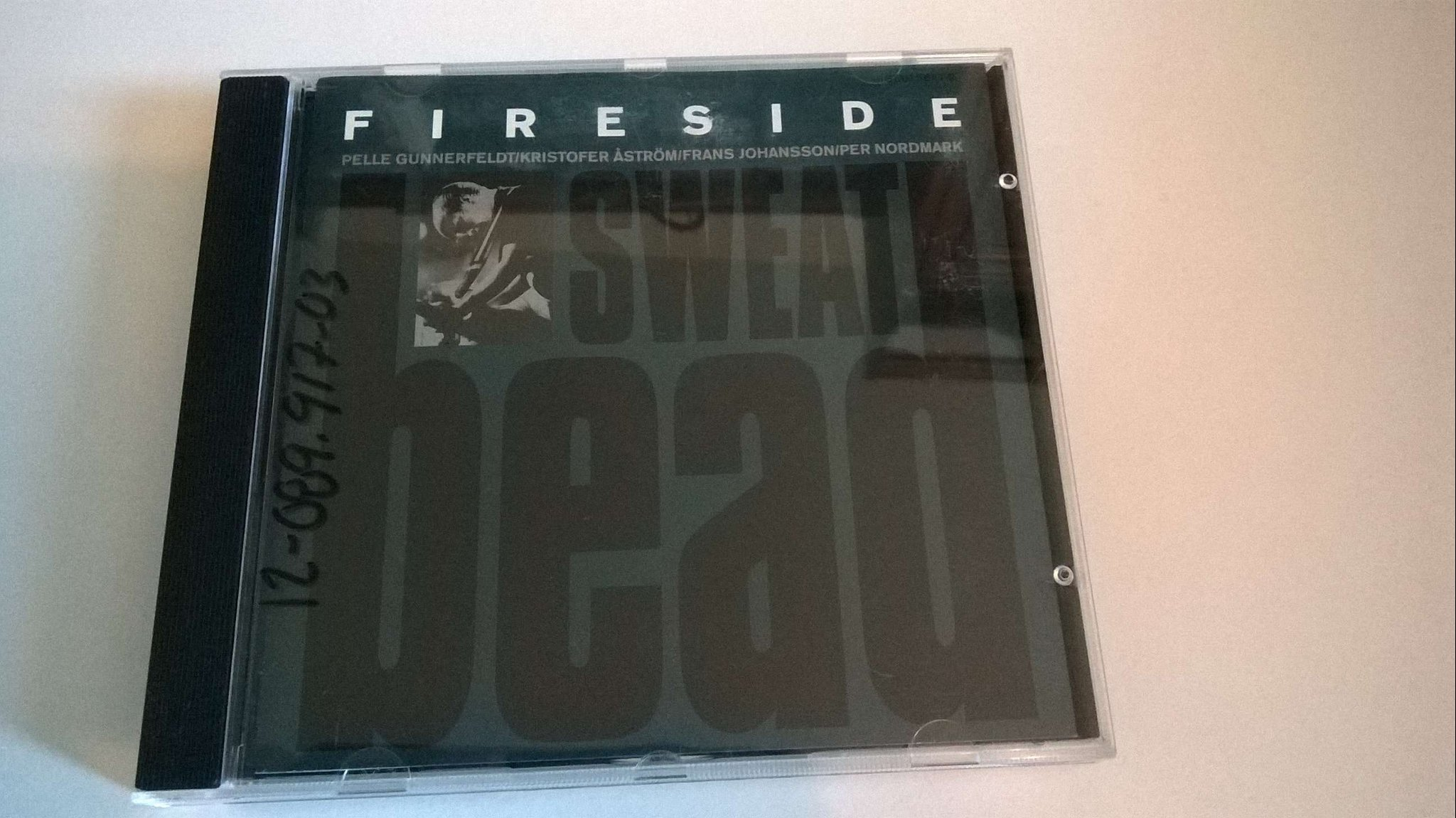 Fireside - Sweat bead, CD