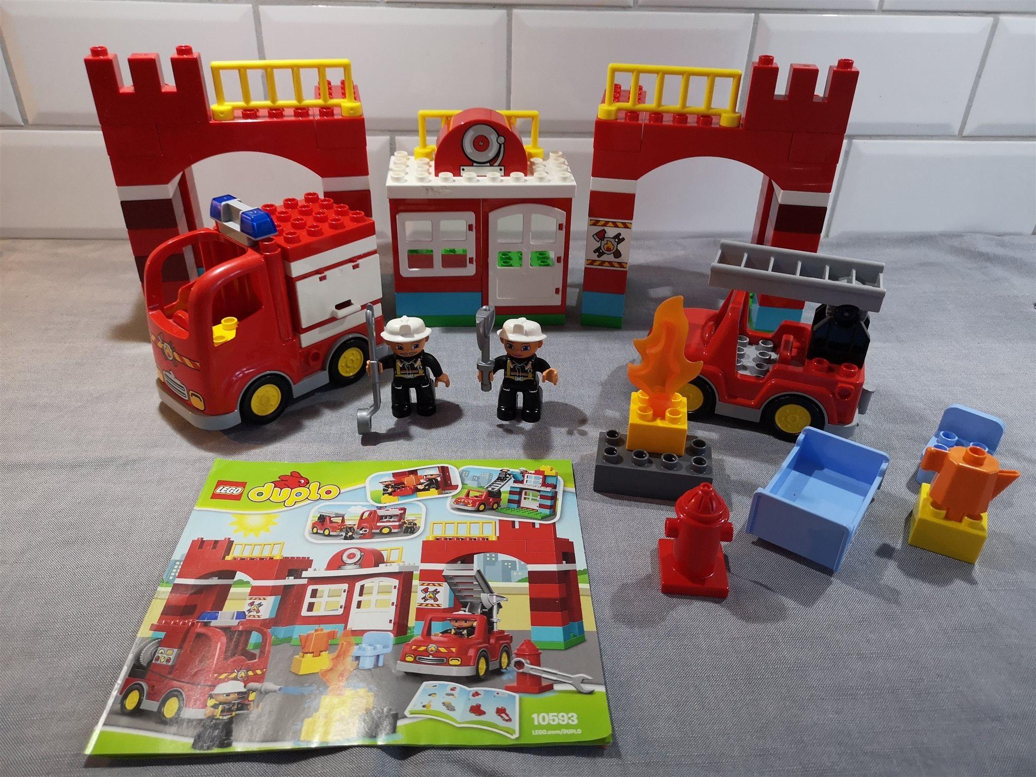 Lego Duplo 10593 10593 10593 - Brandstation 974de9