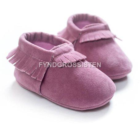 9d0063f19d3 Mockasiner för Småbarn 13-18 mån Barnskor Barn skor - Lila Fri Frakt Ny ...