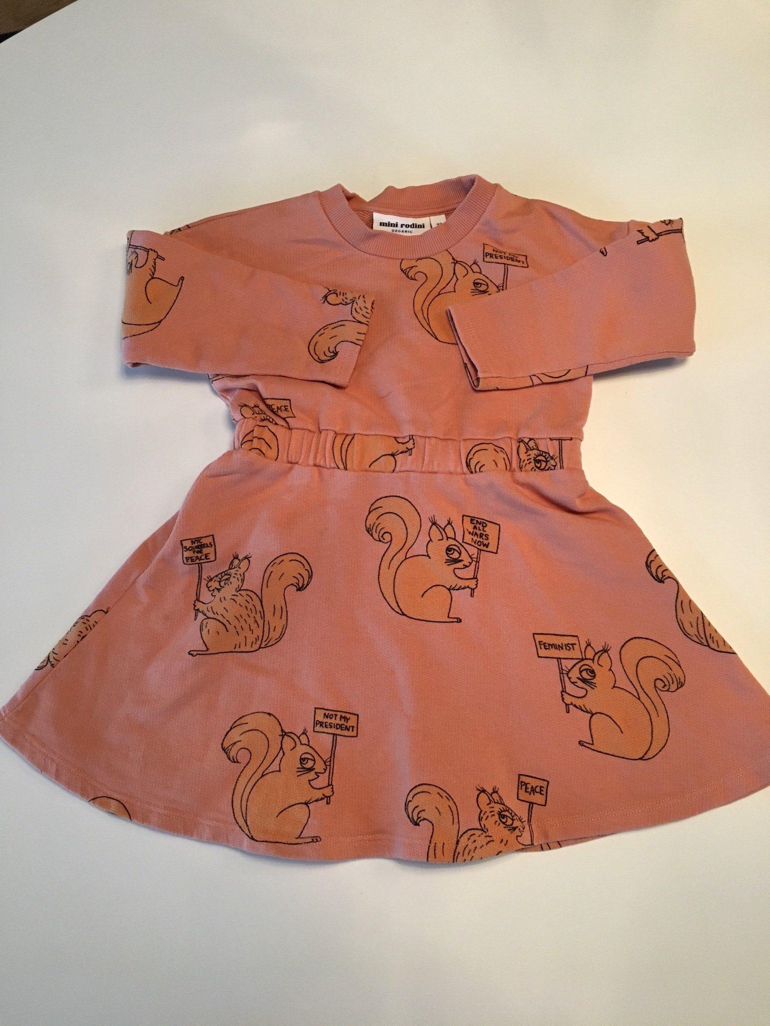 4c5e2851474d Mini Rodini klänning stl 92-98 (343092462) ᐈ Köp på Tradera